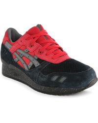 Asics | Gel Lyte Iii Bad Santa Black And Red Trainers | Lyst