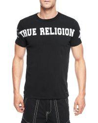 True Religion European Logo Mens T-Shirt - Lyst