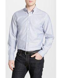 Brooks Brothers Non-Iron Regent Fit Oxford Sport Shirt - Lyst