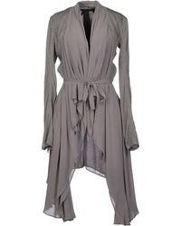 Gareth Pugh Denim Outerwear gray - Lyst