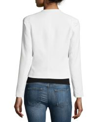 Rebecca Taylor - Refined Stretch Suit Jacket - Lyst