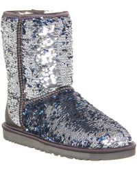 Ugg Classic Short Sparkles - Lyst
