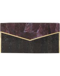 J. Mendel - Mother-of-pearl & Shell Evening Minaudière - Lyst