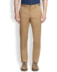 F. Faconnable Chino Pants - Lyst