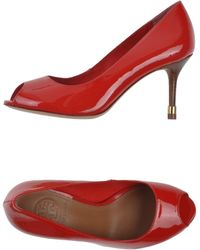 Tory Burch Red Court - Lyst