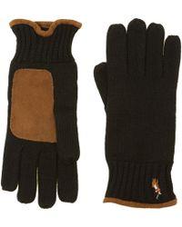 Polo Ralph Lauren | Merino Glove with Suede Trim | Lyst
