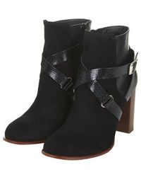 Topshop Aroma Ankle Boots - Lyst