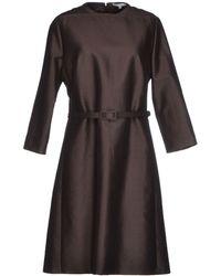 Carven Knee-length Dress - Lyst