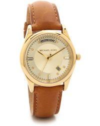 Michael Kors Colette Watch - Goldluggage - Lyst