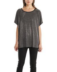 Balmain Studded T Shirt gray - Lyst