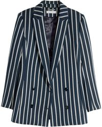 H&M Double-Breasted Jacket - Lyst