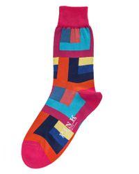 Thomas Pink - Holt Socks - Lyst