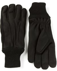 Carven Elasticated Wrists Gloves - Lyst