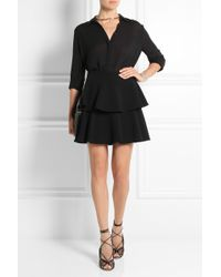 Emanuel Ungaro - Tiered Crepe Mini Skirt - Lyst