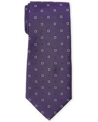 Altea - Purple Silk Tie - Lyst