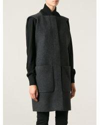 Balenciaga Sleeveless Coat - Lyst