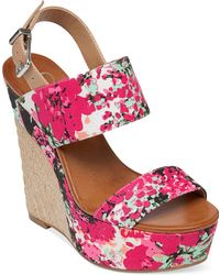 Jessica Simpson Anika Espadrille Platform Wedge Sandals - Lyst
