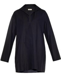 Balenciaga Stretch-Cotton Piqué Dress - Lyst