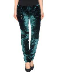 Balmain Casual Pants green - Lyst