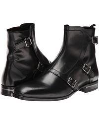 Alexander McQueen Fry Three Buckle Boot - Lyst