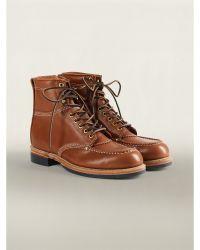 Ralph Lauren Brown Clifton Boots - Lyst