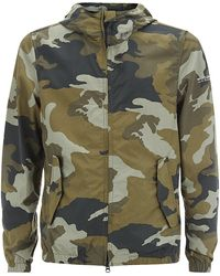 Woolrich Southbay Camouflage Jacket - Lyst