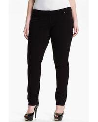 Eileen Fisher Skinny Ponte Knit Pants - Lyst