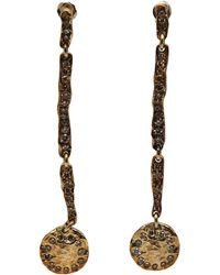 Brevard - Four Part Diamond Earring - Lyst