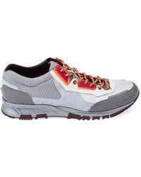 Lanvin Gray Low Sneakers - Lyst