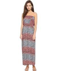 ViX Atoll Cindy Beach Maxi Dress - Atoll - Lyst