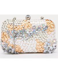 Asos Sequin Scatter Box Clutch Bag - Lyst