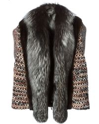 Missoni Panelled Knitted Gilet - Lyst