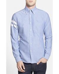 Gant Rugger Hugger Fit Oxford Shirt - Lyst
