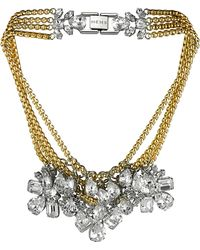 Mews London - Large Signature Crystal Necklace - Lyst