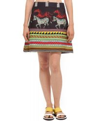Suno Aline Mini Skirt - Lyst