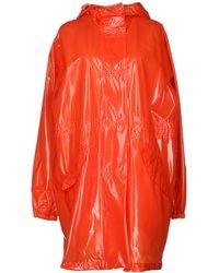 Mm6 By Maison Martin Margiela Full-length Jacket - Lyst