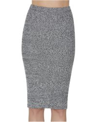 Alice + Olivia | Sheryl Fitted Skirt | Lyst
