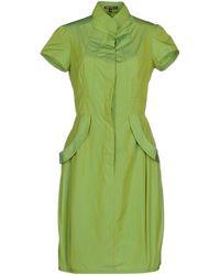 Amaya Arzuaga Short Dress - Lyst
