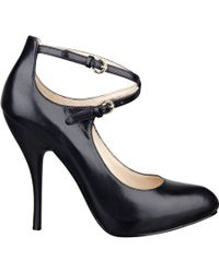 Nine West Cohearent Ankle Strap Heels. - Lyst