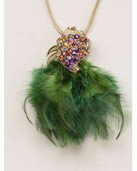 Gabriele Frantzen - Feathered Fish Necklace - Lyst