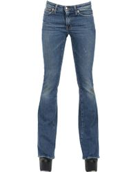People Flared Stretch Cotton Denim Jeans - Lyst