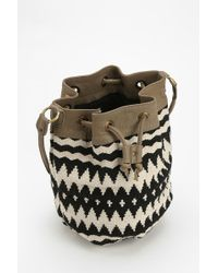 Ecote - Paloma Kilim Bucket Bag - Lyst