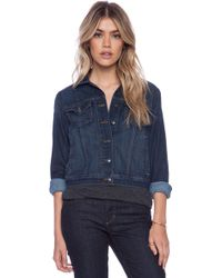 Joe's Jeans Fahrenheit Cropped Jacket - Lyst