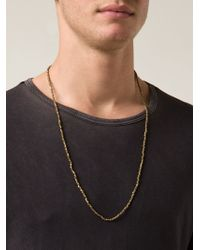 Joseph Brooks - Cube Bead Necklace - Lyst