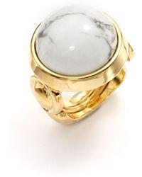 Kara Ross - Jasper Dome Cabochon Ring - Lyst