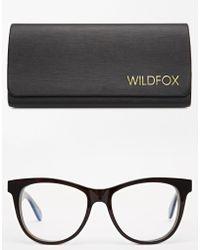 Wildfox Classis Fox Dframe Glasses - Lyst