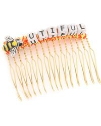 Venessa Arizaga - Bee-utiful Hair Comb - Orange Multi - Lyst