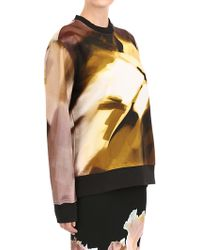 Givenchy Printed Cotton Sweatshirt - Lyst