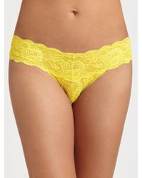 Cosabella Never Say Never Cutie Low-Rise Thong - Lyst