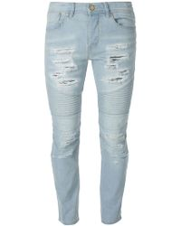 Stampd Ripped Skinny Jeans - Lyst